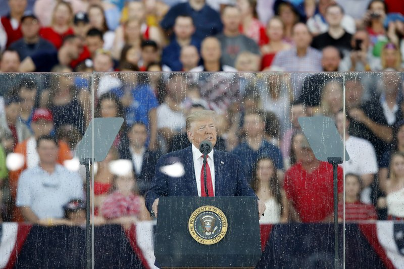 Washington braces for Trump's disputed Independence Day show