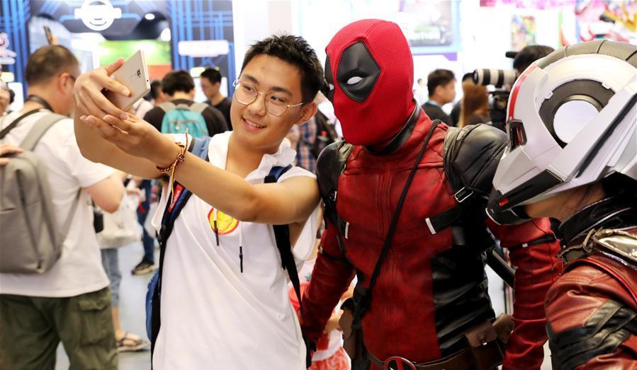 Major comics, games expo opens in Shanghai