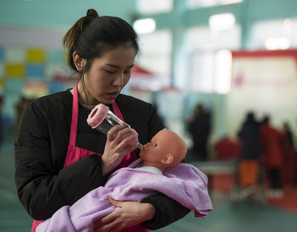 China sees growth in household services industry