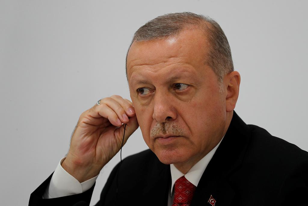 Erdogan says Turkey car blast may be terror-linked