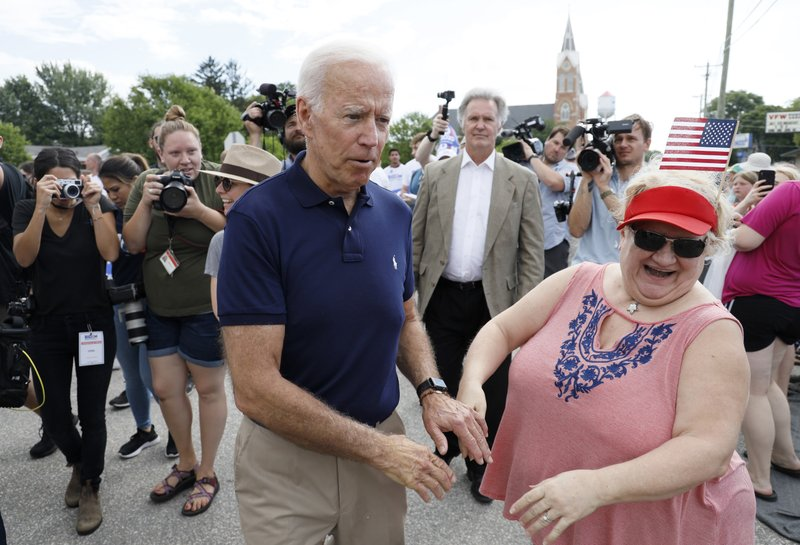 Biden: It would be 'great' to have a female vice president
