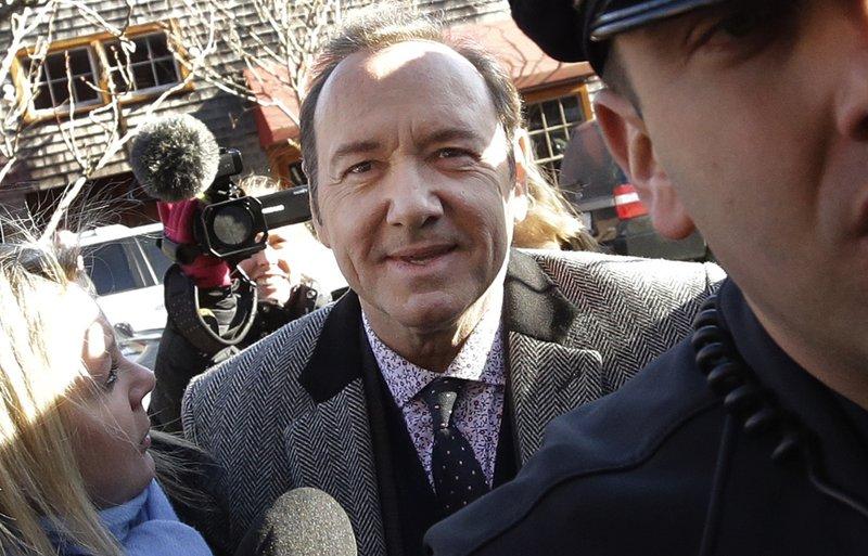 Kevin Spacey accuser drops lawsuit against actor