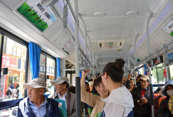 New-energy buses put into operation in Lhasa, China's Tibet