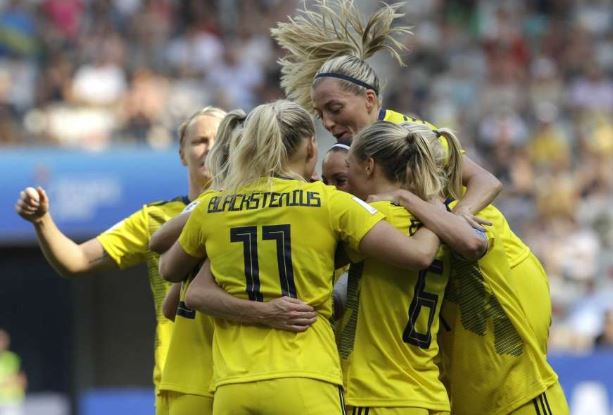 Sweden beat England 2-1 in FIFA Women's World Cup third-place playoff
