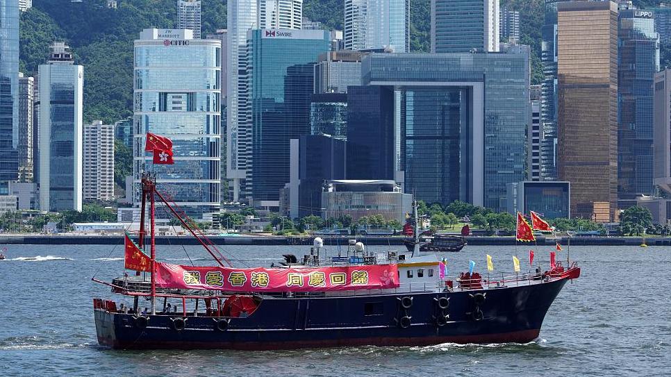 Britain should not poke its nose into Hong Kong's affairs