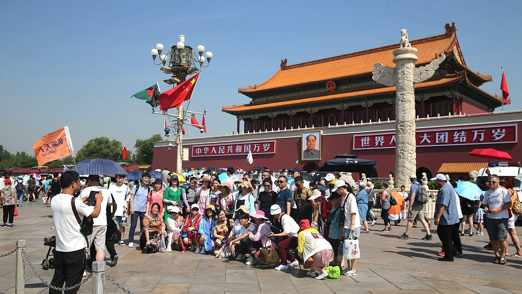China sees nationwide summer travel rush