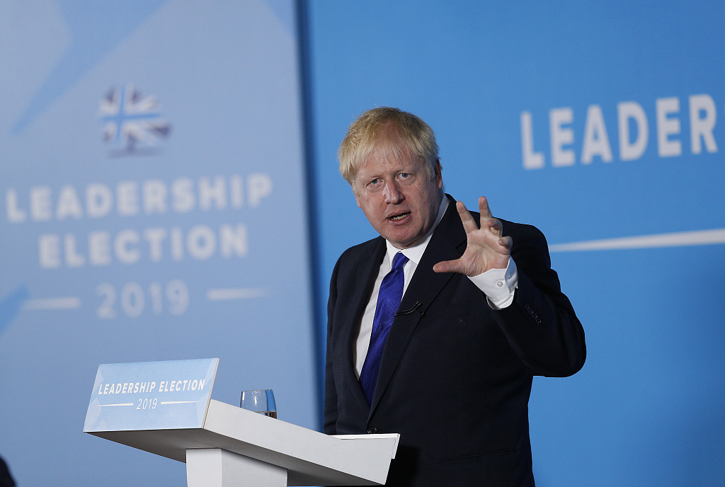 Poll shows Boris Johnson on course for landslide win in race to become British PM
