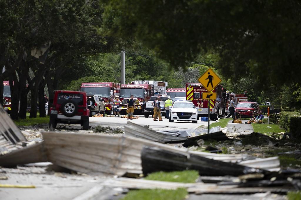 'Like the world was ending': Shopping plaza blast injures 21