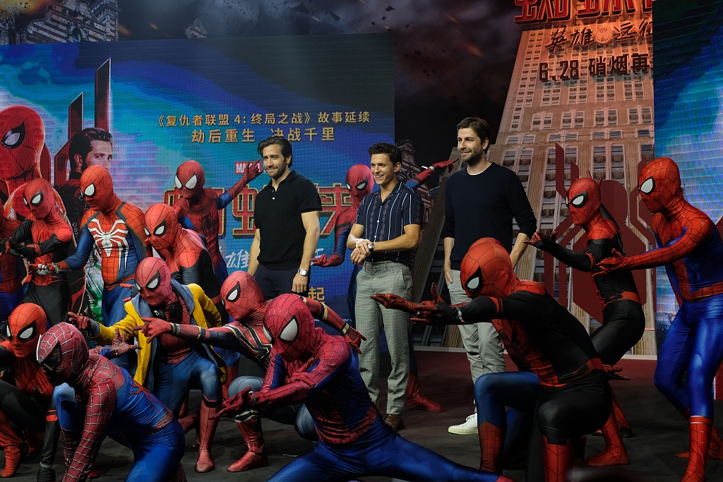 """""""Spider-Man: Far from Home"""" scores 1 bln yuan at Chinese mainland box office"""