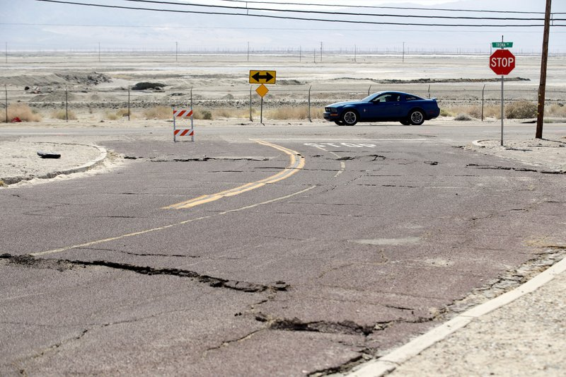 California governor says earthquakes are a 'wake-up call'