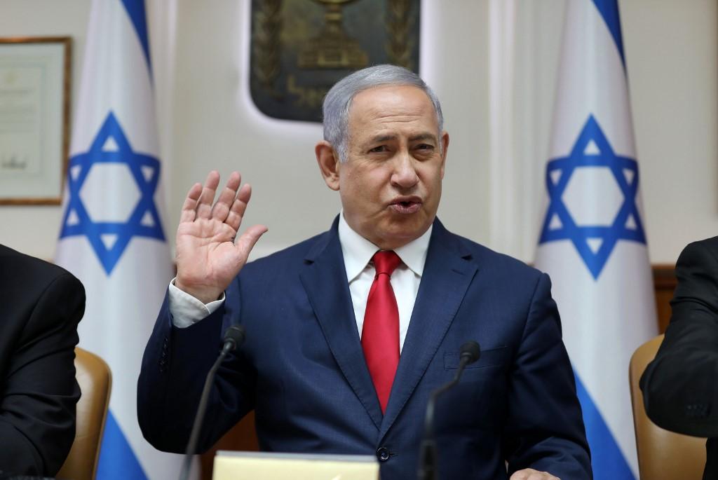 Netanyahu calls for European action against Iran