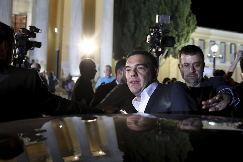 Greek PM acknowledges defeat in general elections