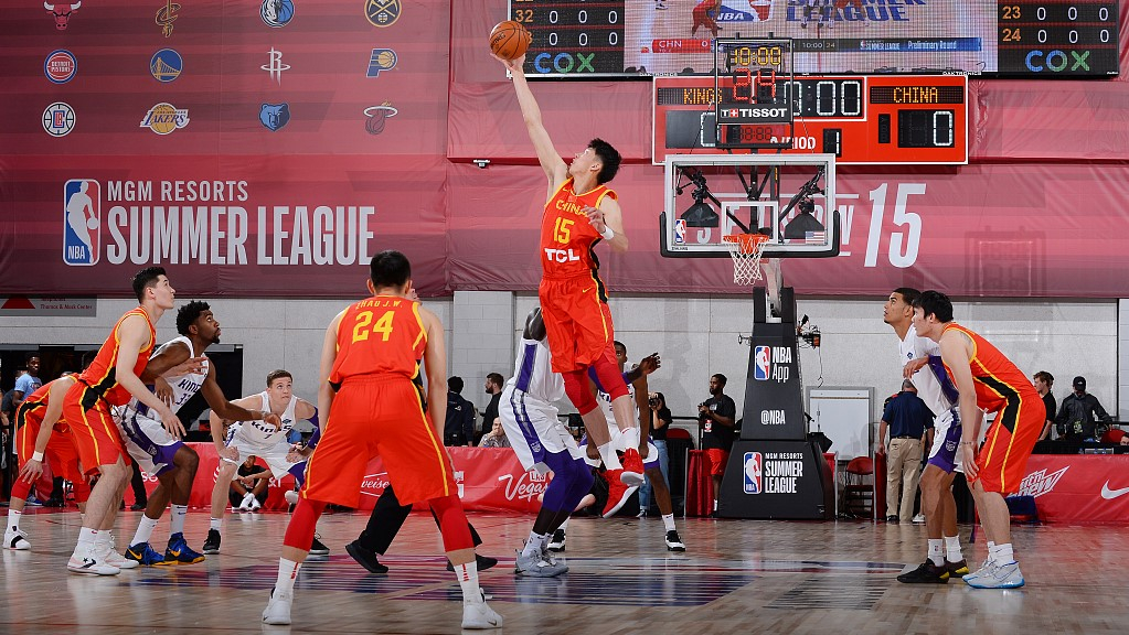 Despite loss to Kings, China are doing better in NBA Summer League