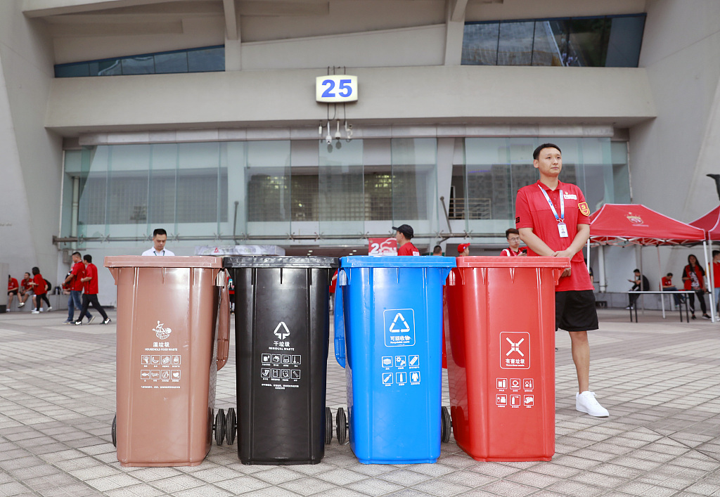 First week of Shanghai's mandatory waste sorting changes residents' lives