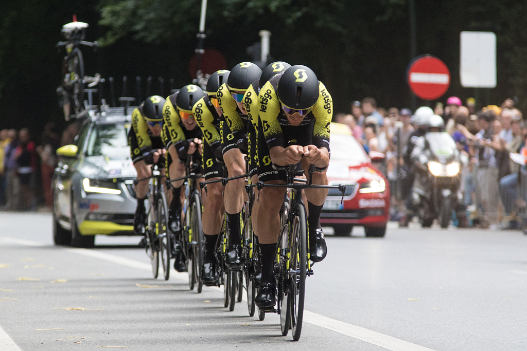 For Tour de France riders, eating on the job key to winning