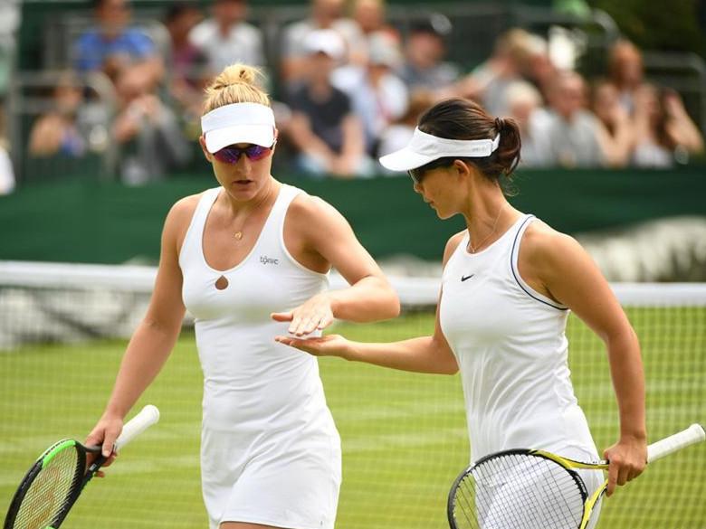 Women's doubles 2rd round match at 2019 Wimbledon Tennis Championships