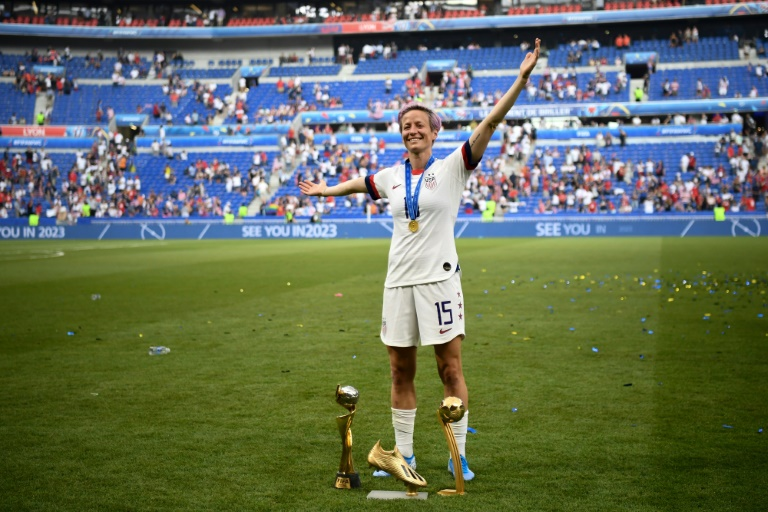 Rapinoe shines brightest at story-packed women's World Cup