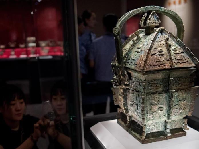 Ancient bronze ware retrieved from overseas