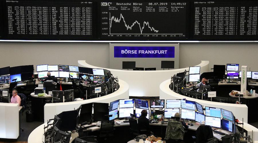 Stock markets retreat awaiting Fed boss Powell