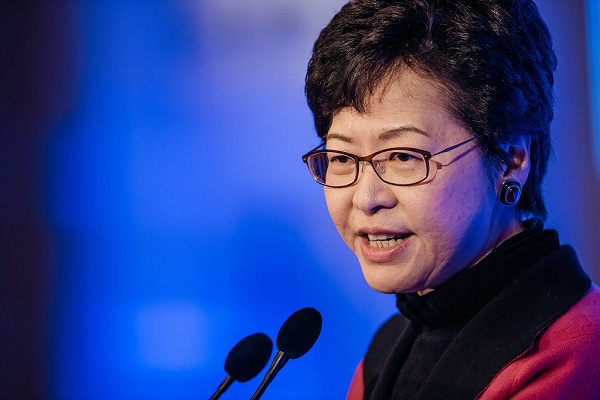 Carrie Lam says fugitive bill 'dead,' vows to restore citizens' confidence on government