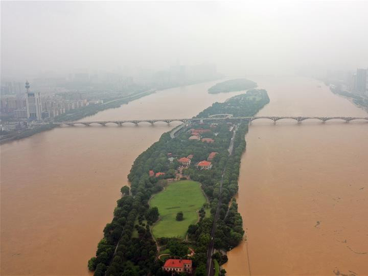 China's Hunan issues red alert for flood