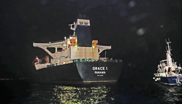 Iran says to respond to British seizure of oil tanker