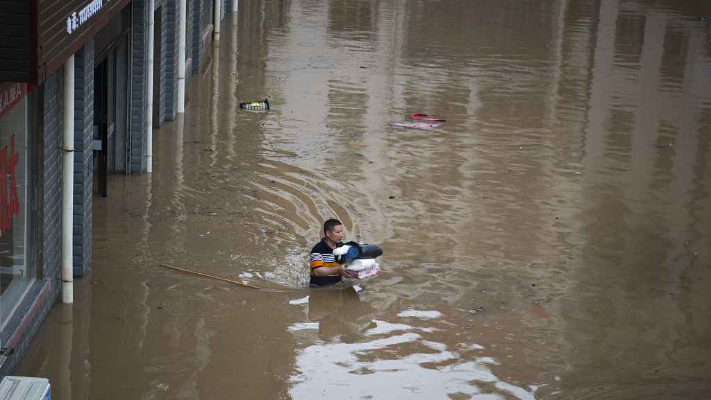 Three dead, three missing in rain-triggered central China floods