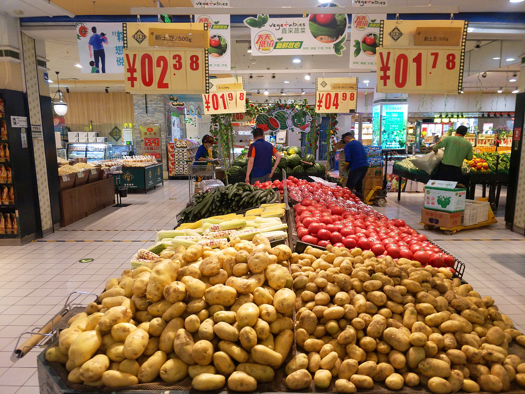 China's CPI up 2.7 pct in June