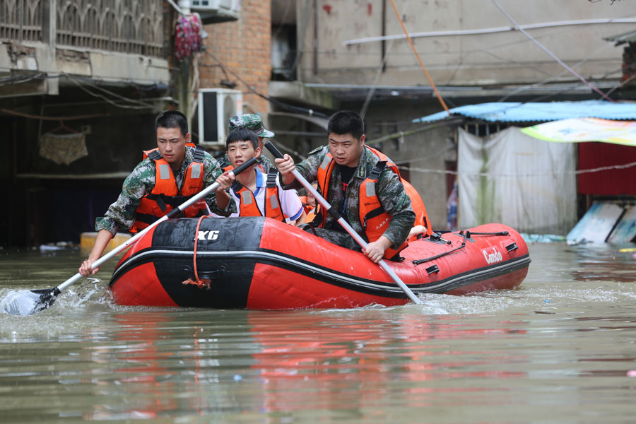 China launches emergency response to floods