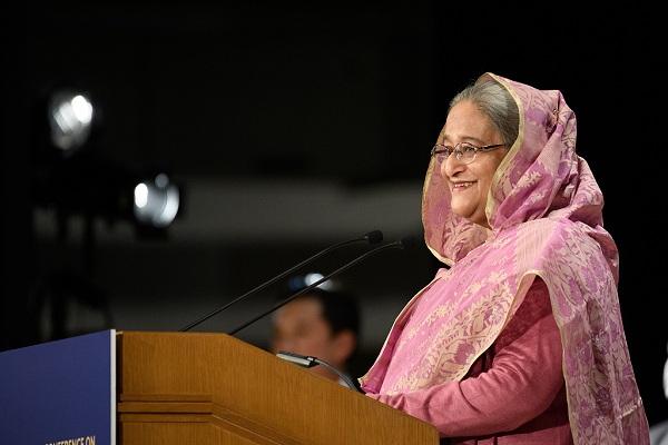 Bangladesh PM calls for world's enhanced efforts on climate change