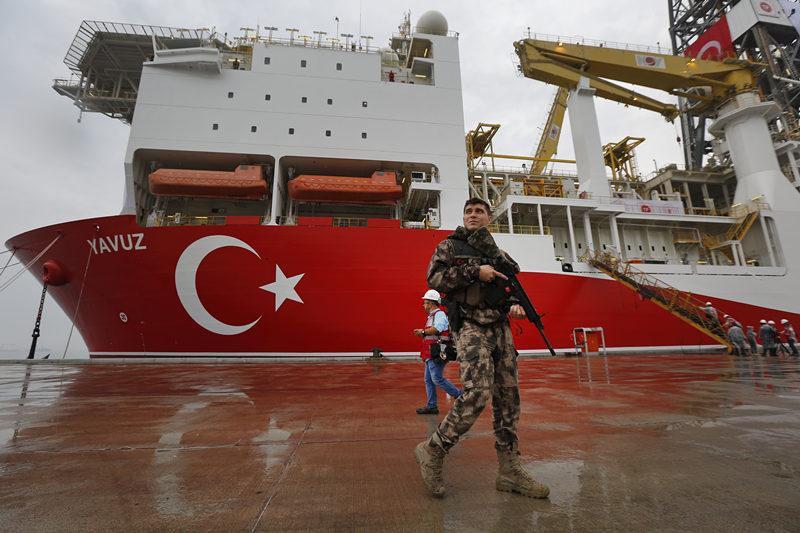 Turkey's 2nd ship to drill off eastern Cyprus despite EU warnings