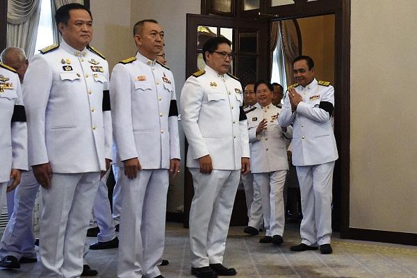 Thai PM Prayut named defense minister in new cabinet