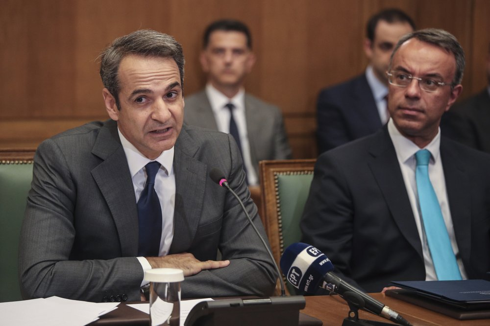 New Greek PM Mitsotakis says tax cuts to be legislated