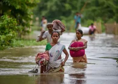 Over 62,000 people affected by floods in India's Assam
