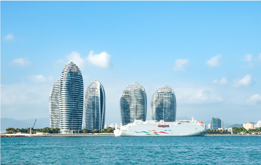 Group cruise liner tourists to visit Hainan visa-free