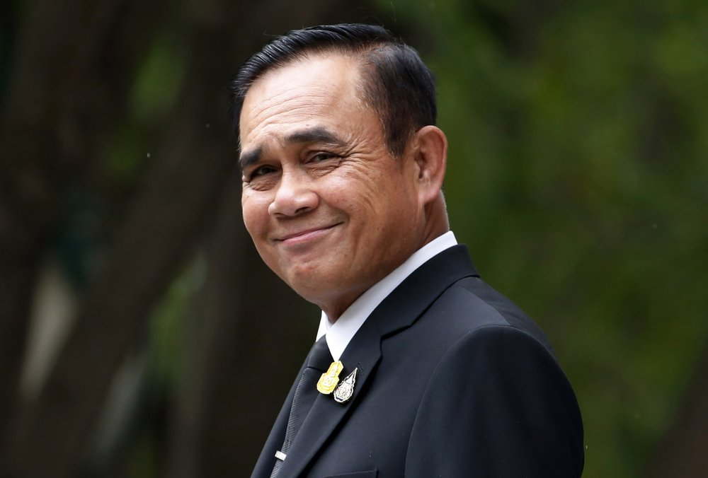 Thai leader names new Cabinet with military colleagues