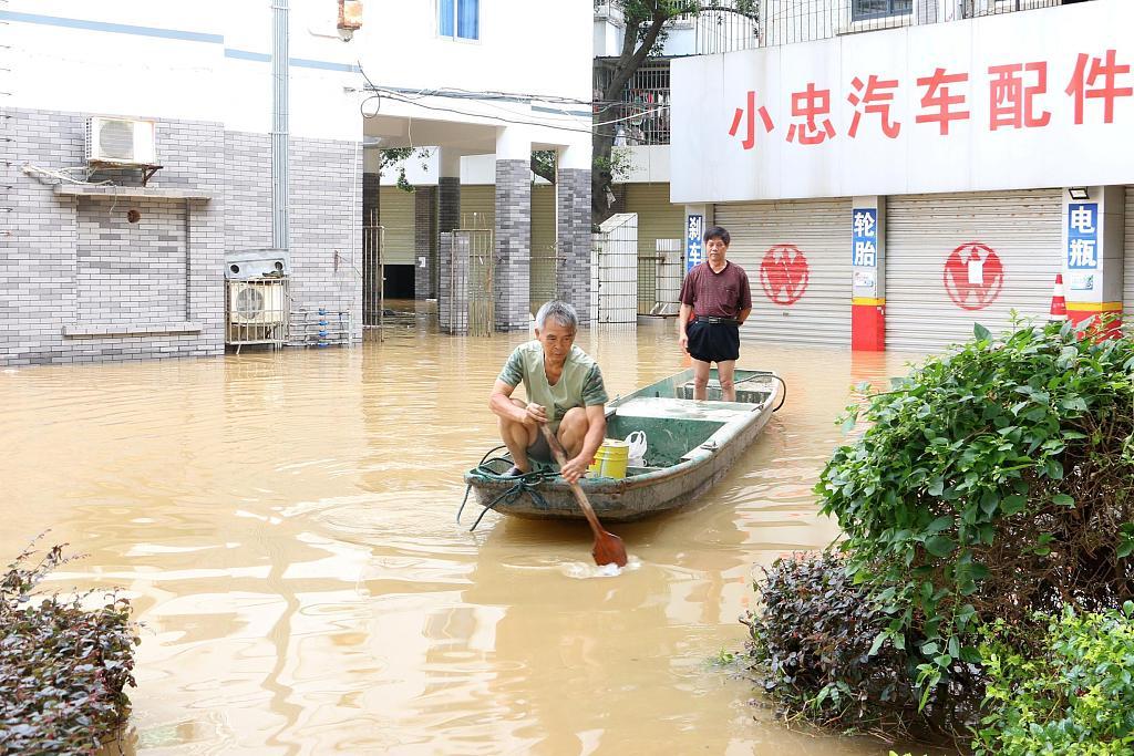 Flood warning for China's Yangtze River more severe