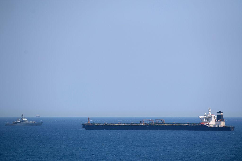 UK alleges Iranian vessels obstructed British oil tanker in Hormuz Strait
